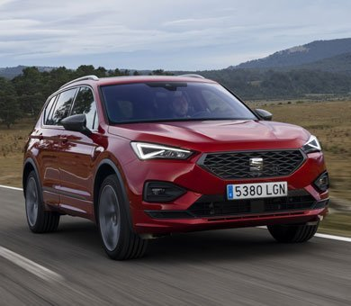 SEAT Tarraco in Rot